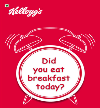 Kellogg serves 'Food for Thought' to Young Indian Mothers using Mobile