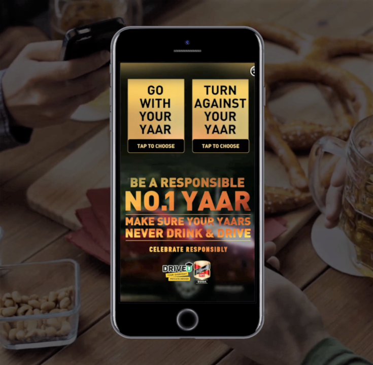 McDowell's No.1 leverage mobile to battle the menace of drunk driving