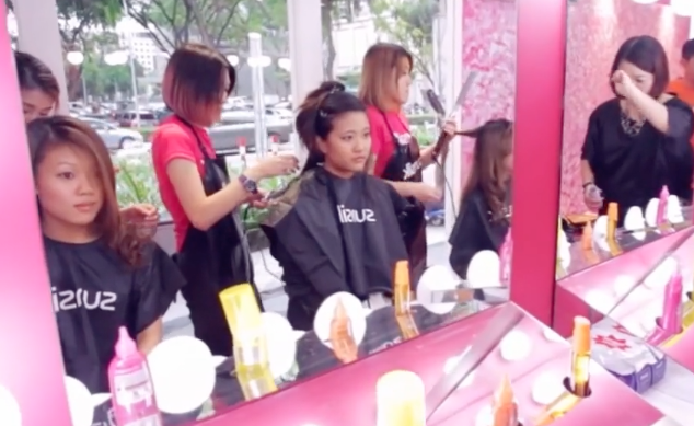 Sunsilk Pop Up Salon : An Award-Winning Ad Campaign
