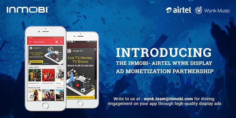 Airtel Wynk Music, the #1 music app in India, partners