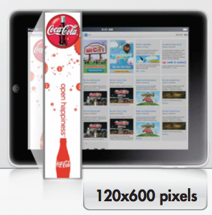 Tablet Ad Format 120x600