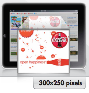 Tablet Ad Format 300x250