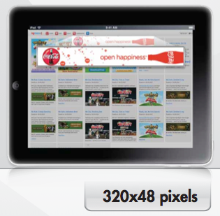 Tablet Ad Format 328x48