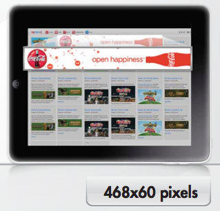 Tablet Ad Format 468x60