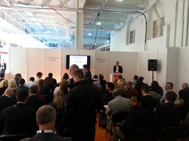 Full house for John Stoneman's Presentation
